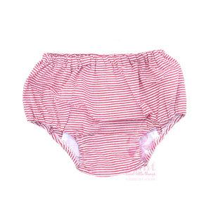 Red Seersucker Diaper Covers