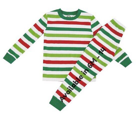 Red & Green Stripes
