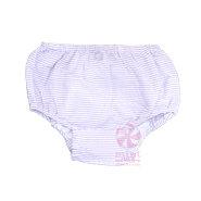 Purple Seersucker Diaper Covers