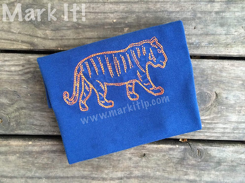 Simple Stitch Tiger