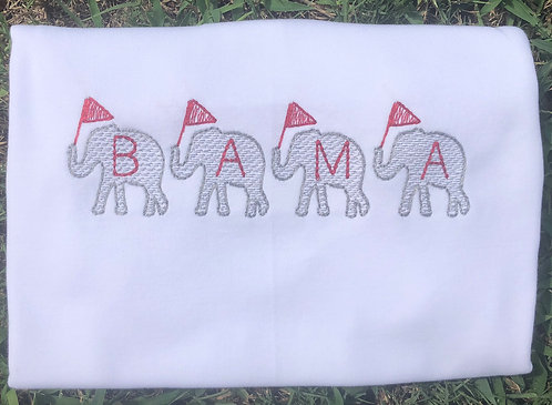 BAMA Elephant Train