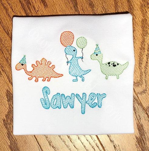 Dinosaur Birthday Parade