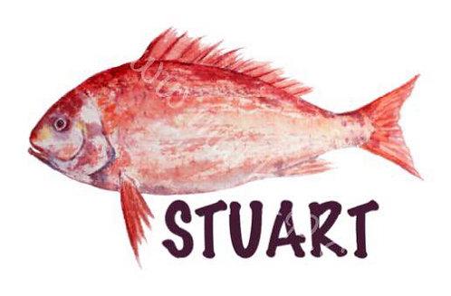 Redfish Watercolor