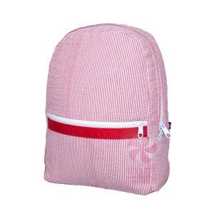 Seersucker Large Backpack