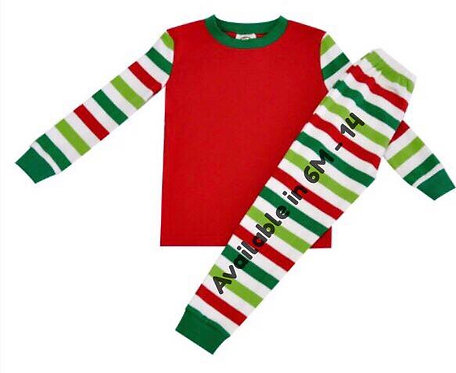 Red & Green Stripes 2