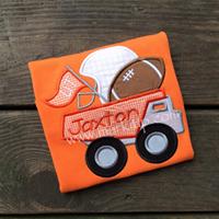 Football Dump Truck