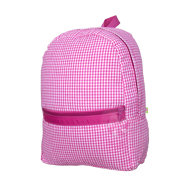 Gingham Large Backpack
