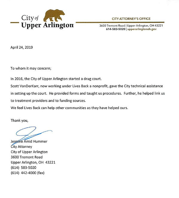 Letter Upper Arlington.JPG