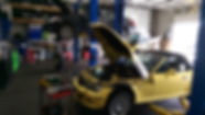 BMW Z3 Yellow W Engine Apart.jpg