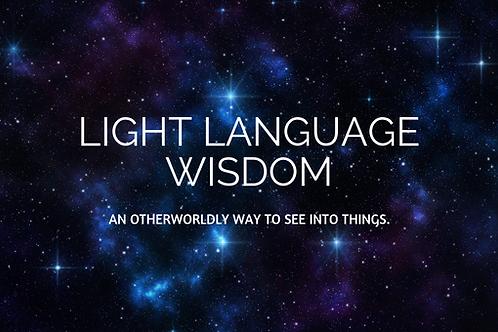 Light language Wisdom
