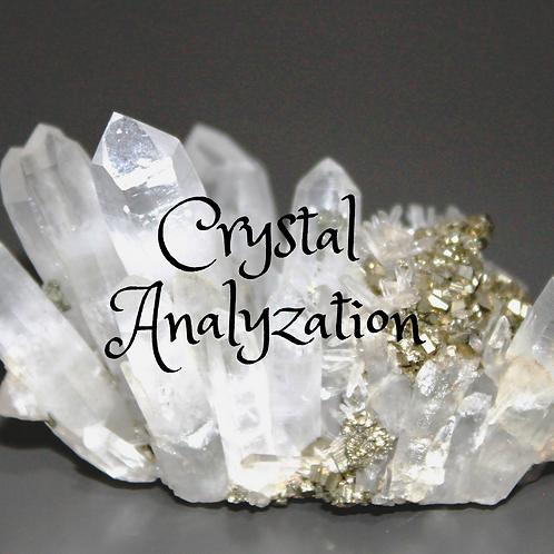 Crystal Analysis