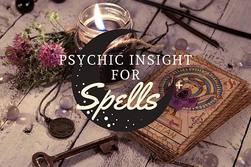 Insight on Spellwork-Reading