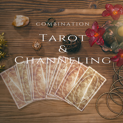 Combination Tarot and Channeling