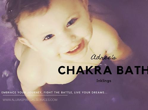 Adree's Chakra Bath Inklings