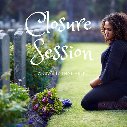 Closure Session