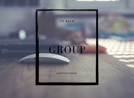 Group is back!