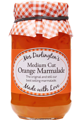 Mrs Darlington's Medium Cut Marmalade