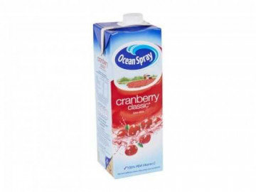 Cranberry Juice  Carton