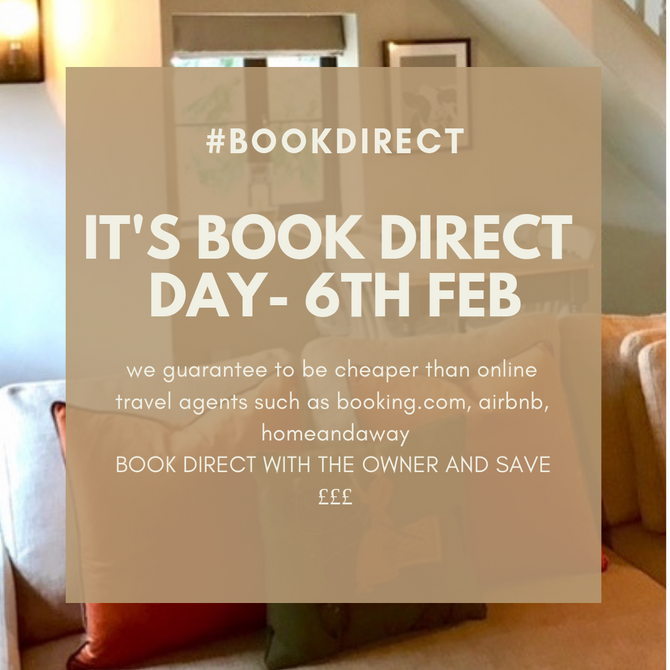 Book Direct Day!! #bookdirect