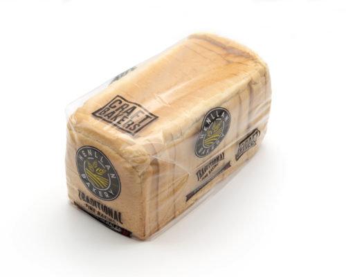 Henllan White Slice Loaf