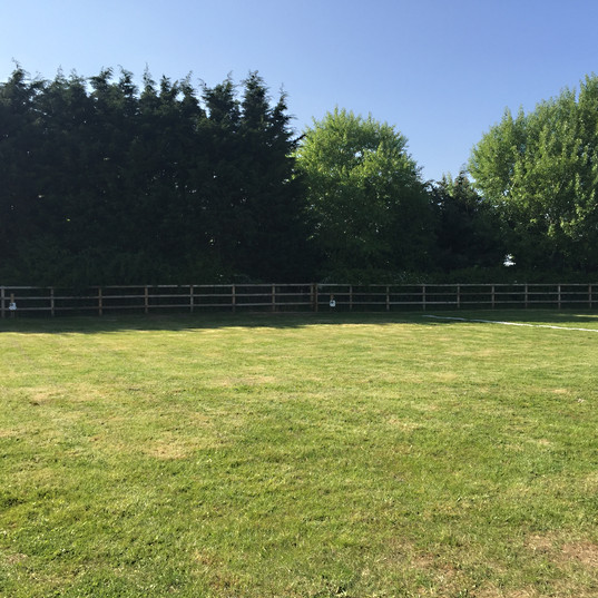 CL Site- 5 level grass pitches with EHU