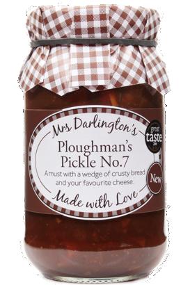 Mrs Darlington's Ploughman's Pickle No. 7