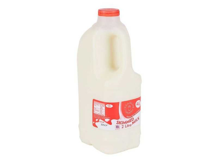 Skimmed Milk, Plastic Bottle
