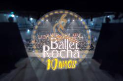 Logo Ballet Rocha 10 Anos