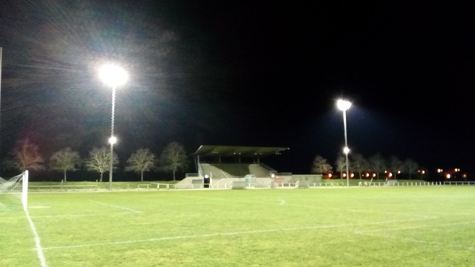 Le nouvel éclairage du stade