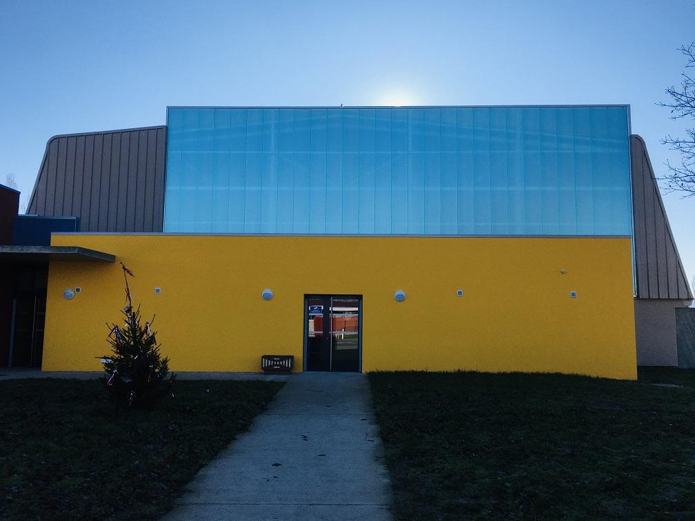 La salle des sports rénovée