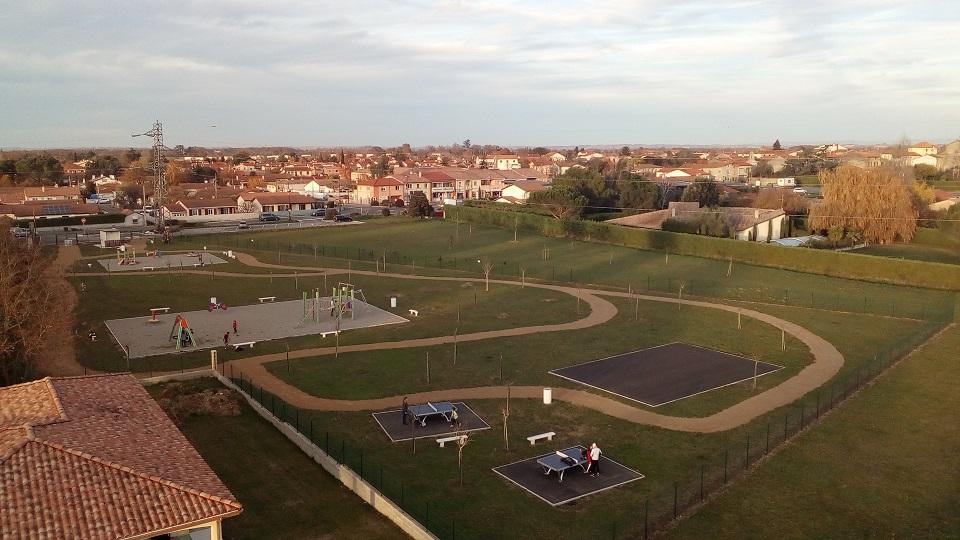 Le nouveau parc de loisirs
