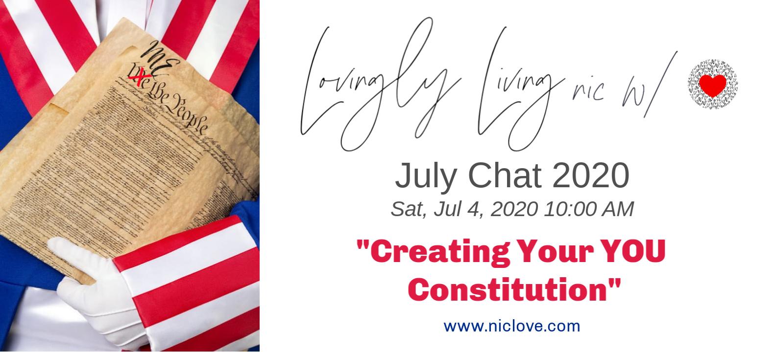 July Nic With Love Webinar