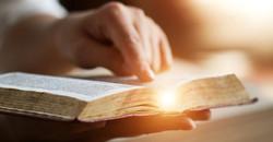 bible and light