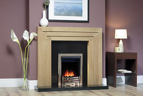 ROT406 Rothbury Natural Oak Black Granit