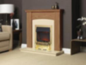 DBY010L Derbyshire Golden Oak Beige Marf