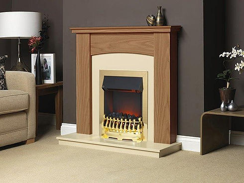 DBY010L Derbyshire Golden Oak Beige Marf