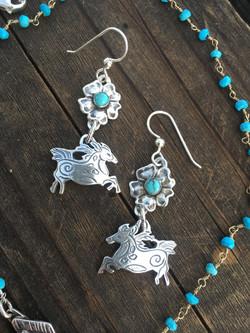Wildhorse Earrings