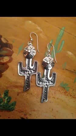 Saguaro Earrings