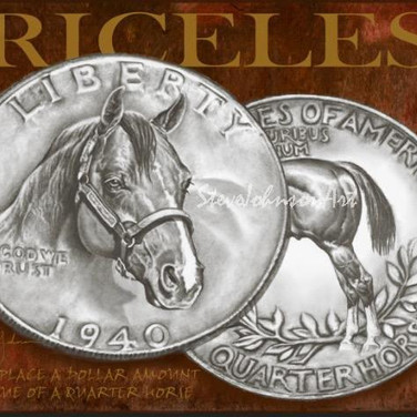 Quarter Horse Tin