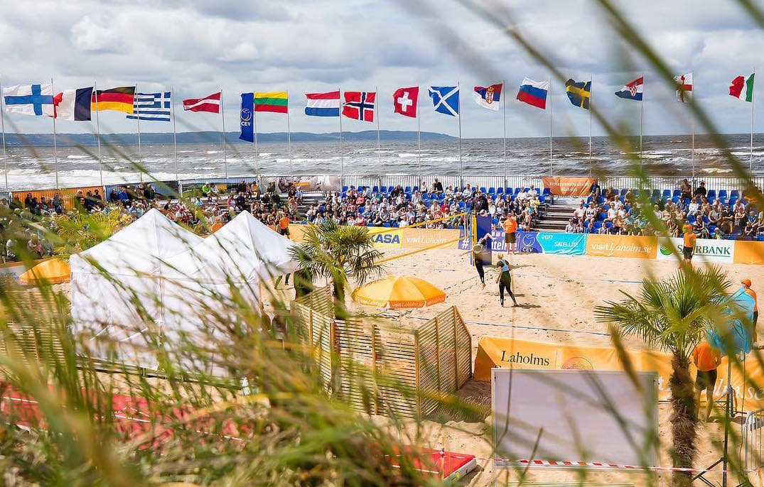 Beachvolleyboll Laholm 3