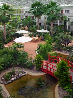 en av Bovierans trädgårdar vi skapat