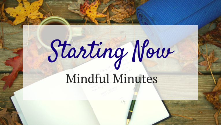 Mindful Minutes, meditation, self care, yoga, self compassion, body positive