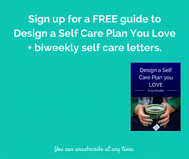 Self care planning guide