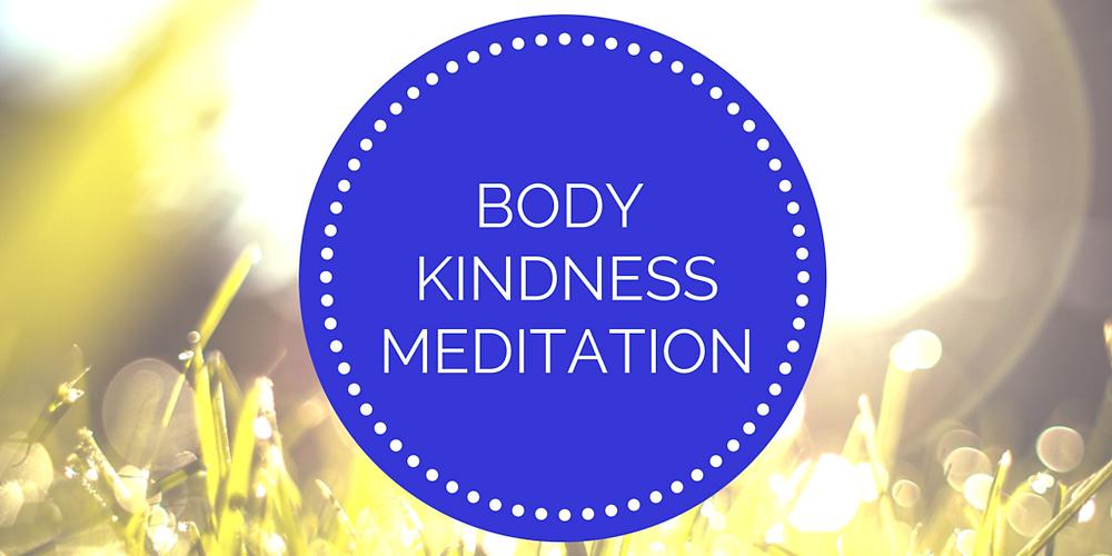 Body kindness meditation