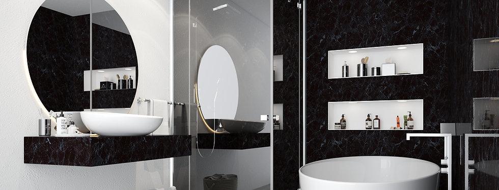 Wall Panels | Black Marble