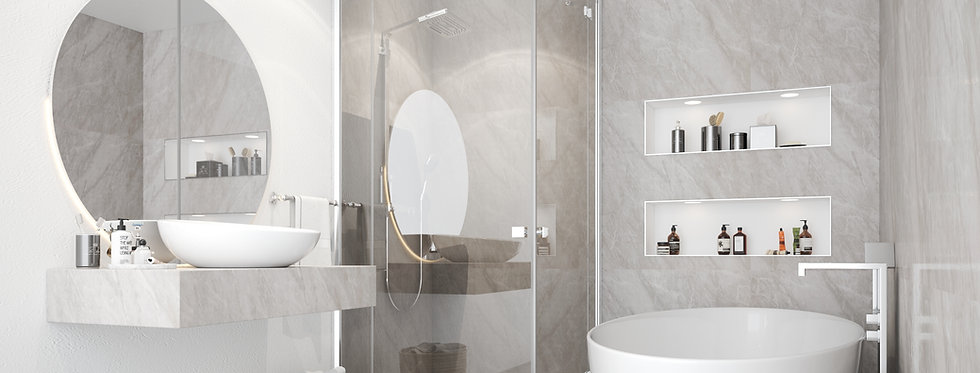 Wall Panels | Grey Marble