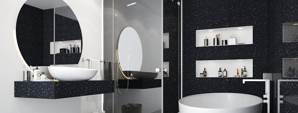 Wall Panels | Black Galaxy