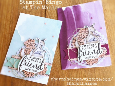 Stampin' Bingo at The Maples