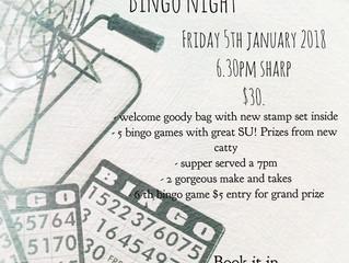 Stampin' Bingo Night at The Maples