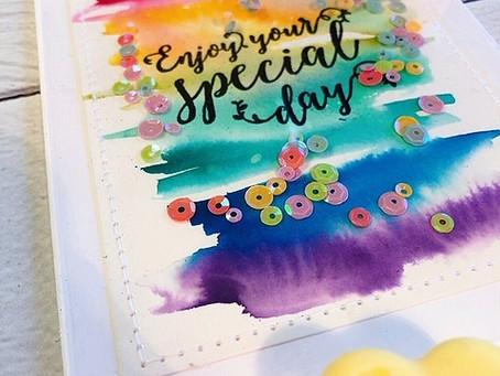Social Stamping - Rainbows April 2020